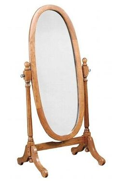 Oval Standing Mirror- want to find an antique one | Master ...