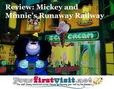 Review: Mickey and Minnie's Runaway Railway - yourfirstvisit.net Disney World Deals, Disney World Attractions, Disney World Florida, Disney World Parks, Disney World Planning, Walt Disney World Vacations, Best Vacations, Disney World Tips And Tricks, Hollywood Studios