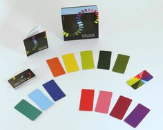 Create spectacular color arrays with this unique card game from Funnybone Toys. $15