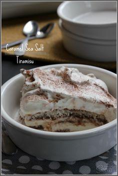 Caramel Sea Salt Tiramisu (No Alcohol or Coffee)