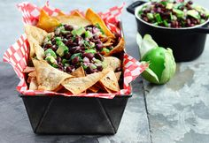 Our #SelectionSunday hunch: Black Bean Avocado Salsa with Home Baked Tortilla Chips will make the #FinalFour.
