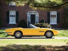 MT Calling all international playboys! The car you need this summer 1968 Maserati Ghibli Spyder Maserati Ghibli, Chasing Cars, Car Set, Love Car, Pebble Beach, Automotive Design, Luxury Lifestyle, Playboy, Vintage Cars
