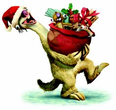 Sid's got a slow surprise for you! Christmas Humor, Christmas Holidays, Ice Age 4, Cartoon Characters, Fictional Characters, Character Illustration, Tigger, Disney Princess, Pictures