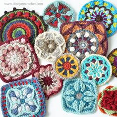 About creative method of calling Inspiration by doing something. A method that DOES work. Try it and create something beautiful on your own. (lillabjorncrochet.com)