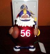 Department 56 Noel Touchdown Santa Large Ornament