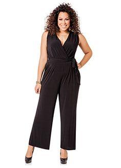 fb412d837ef Ashley Stewart Women s Plus Size Sleeveless Jumpsuit - Size  3X
