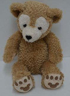 "Disney Parks Duffy Bear Hidden Mickey Plush Stuffed Animal 17""  #Disney"