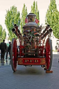Portland Fire and Rescue- The steam fire engine was capable of pumping 600…