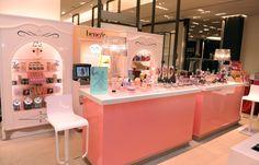 Benefit Cosmetics Counter