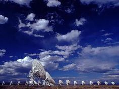 The Very Large Array – Datil, New Mexico - Since its construction in the late research has been conducted here on supernovae, black holes, dark energy and SETI, the Search for Extra-Terrestrial Life. Radio Astronomy, Dark Energy, Extra Terrestrial, Land Of Enchantment, New Mexico, Places Ive Been, Road Trip, Sky, Adventure