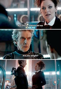 Doctor, are you alright? #DoctorWho
