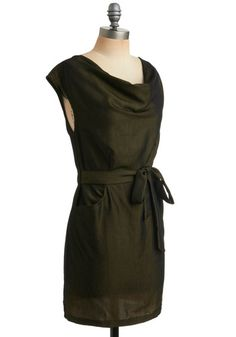 Olive Branch Out Dress