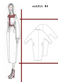 Fashion Sketchbook - fashion design drawings; fashion portfolio // Ilaria Fiore More