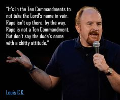 Louis CK on the Ten Commandments - Imgur  I'm pretty sure I've posted this before, but it is so smart it bears repeating.
