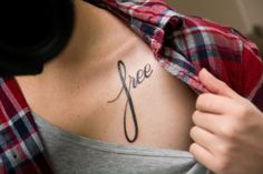 getting this tattoo to remind me everyday that I am now free and looking for a brighter tomorrow! :)