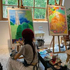 Artist Aesthetic, Aesthetic Indie, Art Hoe, Artist Life, Art Pictures, Cute Art, Art Inspo, Art Drawings, Artsy