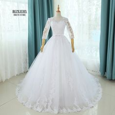 Online Shop Real Photos Scoop Ball Gown Bridal Gown With Sash Wedding Dresses Chapel Train Customized Cheap Brides Dress Vestido De Novia   Aliexpress Mobile