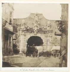 The city wall of Vienna Austria 1858 just before the demolition work began. 1874 is had completely disappeared. 1800s Photography, Fashion Photography, Digital Archives, Yosemite Valley, History Photos, Vienna Austria, Alter, Old Photos, Vintage Posters