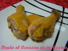 Desde el Corazón de mi Cocina: . Jamoncitos de pollo al curry (Buenísimo)