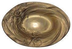 Art Nouveau Female form Dish