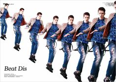 Lucas Mascarini for WU Magazine by Deelay & Giuliano Deidda
