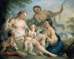 """Venus and Cupid"", by Charles-Joseph Natoire"