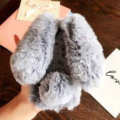 Cute Bunny Rabbut Fur Plush Fuzzy Fluffy Diamond Soft Case Cover For Cell Phones Fluffy Phone Cases, Bling Phone Cases, Iphone Phone Cases, Phone Covers, Cute Cases, Cute Phone Cases, Cellular Accessories, Gifts For Photographers, Kawaii Shop