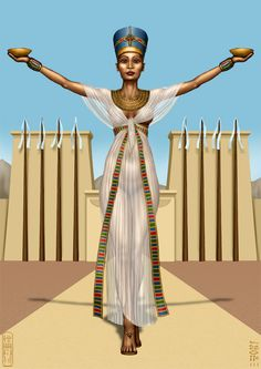 As I told you, I decided to draw Isetnofret ( The Beautiful Isis), The Great Royal Wife of Ramesses II.. Again, I'm using a more detailed style and I'm considering to draw Ramesses, his parents, ma...