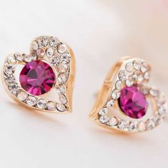 Zinc Alloy #Stud #Earrings, #perfect for daily wear http://www.beads.us/product/Zinc-Alloy-Stud-Earring_p218413.html?Utm_rid=194581