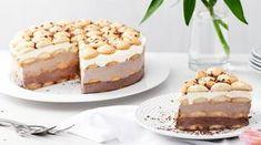 Cheesecake s bílou čokoládou Lidl, Graham Crackers, No Bake Cake, Food Videos, Tiramisu, Sweet Tooth, Cheesecake, Food Porn, Easy Meals