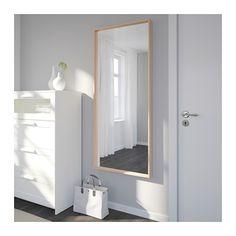 NISSEDAL Spiegel - wit gelazuurd eikeneffect - IKEA