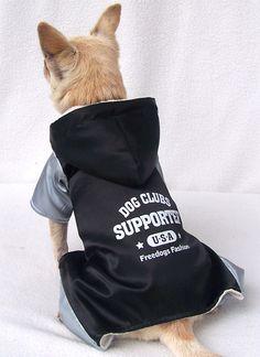 Four-legs Pyrographic Dog Coat