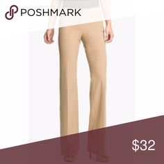 Michael Kors Gramercy Fit Khaki Pants Sz 10P Michael Kors Gramercy Fit Slacks Trousers hint of strech belt loop front / back pockets Michael Kors logo hardware on the back zip/ button closure Size: 10P Color: tan / beige fabric: 97% cotton 3% spandex machine wash Gently preowned condition with no stains, rips, or holes  See pictures for approx. measurements flatlay, unstreched:  Offers welcome or bundle & save!  102 Michael Kors Pants
