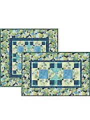 Quilt - Quick & Easy Patterns - Table Toppers - Summer Breeze Placemats, Napkins and Center Mat Pattern
