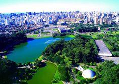 """Parque Ibirapuera (via Catraca Livre """"Tours em inglês no sistema """"pague o quanto acha que vale"""" são oferecidos em São Paulo"""")"""