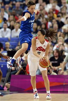 Celine Dumerc & Sue Bird. My two favourite point guards