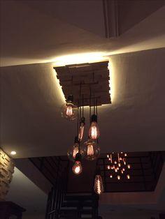 #edison bulbs #home made#