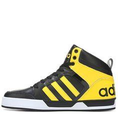 Adidas raleigh 9tis metà scarpe (nucleo nero / bianco / nero correre