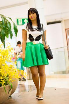 look saia verde