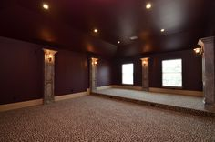 Movie Room built by Sapphire Custom Homes#SapphireCustomHomes#CustomHomeBuilder#Remodel#MovieRoom#Cheetah#Floors#Acreage#Texas#RealEstate#RusticHome#Farmhouse