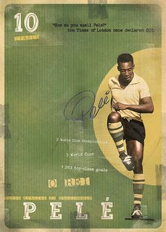 The gods of football - pele good soccer players, god of football, football art God Of Football, Football Icon, Best Football Players, Good Soccer Players, Retro Football, Football Design, Football Art, World Football, Vintage Football
