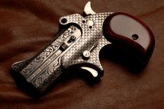 Bond Arms Derringer 2. Derringers by Otto Carter- a Master Engraver!