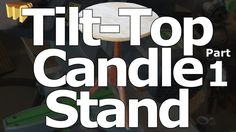 How to build a three legged, tilt-top candle stand - with hand cut coped and tapered sliding dovetail joints. First of three videos - this one covering the c. Candle Stand, Tilt, Peacock, Candles, Peacocks, Candy, Candle Sticks, Candle Holders, Peafowl