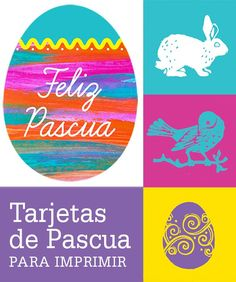 Printable Bilingual Easter Cards - mom.me