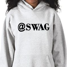 Warm & toasty #pullover for girls. @SWAG / SWAGG -  #Trendy and Cool #Quotes on #Tees by Chantal PhotoPix. #apparel #hoody #style #fashion