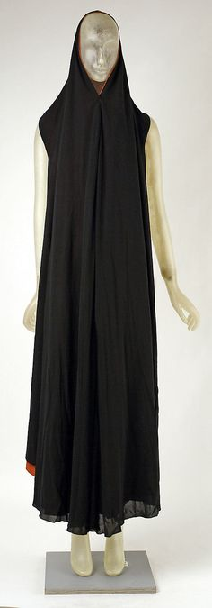 "This ""cape"" dress is so modern, it's hard to believe it's from 1937! Madeleine Vionnet, via Met Costume Institute"