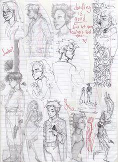burdge: First Semester doodles. Disney Drawings, Cartoon Drawings, Drawing Sketches, Art Drawings, Comic Drawing, Body Drawing, Burdge Bug, Really Cool Drawings, Bug Art