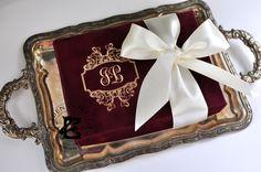 bordeaux suede box event invitation gold foil Gold Invitations, Gold Foil, Bordeaux, Box, Gold Save The Dates, Snare Drum, Bordeaux Wine
