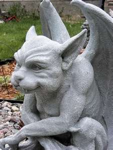 I need a gargoyle for my garden…. I need a gargoyle for my garden…. Magical Creatures, Fantasy Creatures, Mythological Creatures, Dragons, Gothic Gargoyles, Gargoyle Tattoo, Sculptures Céramiques, Stone Sculpture, Angels And Demons