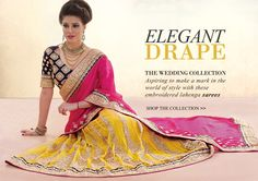 We bring to you a latest designer collection of lahenga sarees. Discover more designs and styles on www.lookbuylike.com